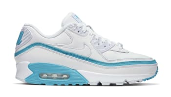 Undefeated x Nike Air Max 90 White/Blue Fury