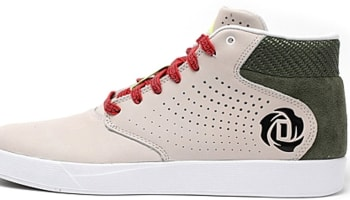 adidas D Rose Lakeshore Mid CNY Cream/Green-Red-Black