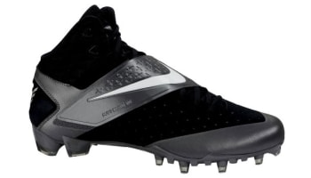 Nike CJ81 Elite TD Cleat Black/Silver