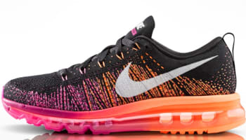 Nike Air Max Flyknit Women's Black/Sail-Bright Magenta-Atomic Orange