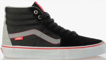Vans Sk8-Hi Pro Black/Grey-Red