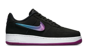 Nike Air Force 1 Low Jewel Black/Active Fuchsia-Blue Lagoon-White
