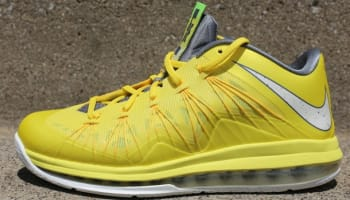 Nike LeBron X Low Sonic Yellow