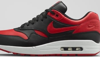 Nike Air Max 1 Premium Black/Varsity Red-White