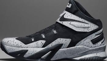Nike Zoom Soldier VIII Flyease Black/Black-Wolf Grey
