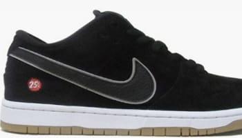 Nike Dunk Low Premium SB Black/Black-Reflect Silver
