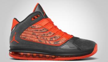 Jordan Big Ups Anthracite/Team Orange