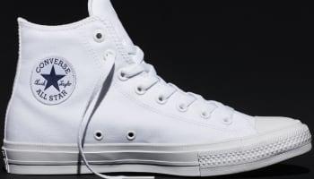 Converse Chuck Taylor All-Star II Hi Optic White/White