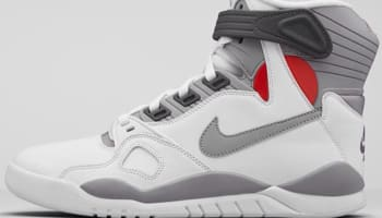 Nike Air Pressure White/Gamma Orange-Midnight Fog-Cement Grey