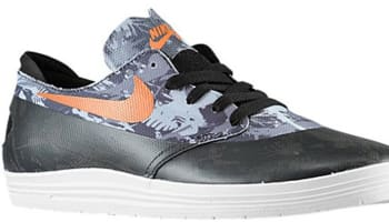 Nike Lunar One Shot SB Black/Safety Orange