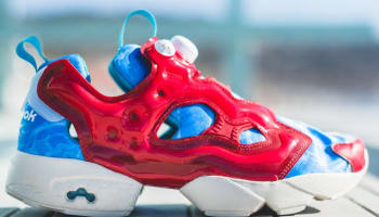 Reebok Instapump Fury Excellent Red/Neon Pink-Neon Blue