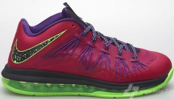 Nike LeBron X Low LeBroncurial Raspberry Red