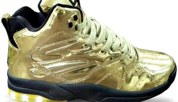 LA Gear LA Lights Liquid Gold/Black