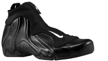 Nike Air Flightposite 2014 Black/Metallic Silver-Black