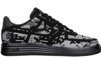 Nike Lunar Force 1 Low Fuse Digi NRG Black/Reflective Silver-Dark Grey