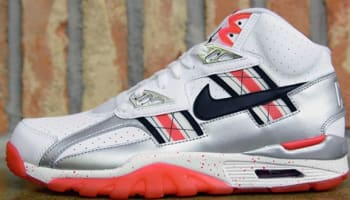 Nike Air Trainer SC High Premium QS White/Black-Metallic Silver-Varsity Red