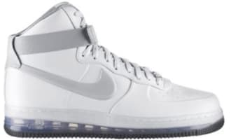 Nike Air Force 1 High Lux Max Air White/Metallic Silver