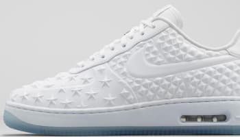 Nike Air Force 1 Low Elite AS QS White/White-Chrome