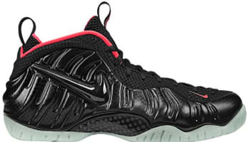 Nike Air Foamposite Pro Premium Black/Black-Laser Crimson