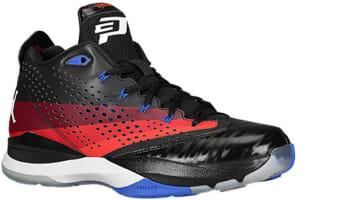 Jordan CP3.VII Black/White-Team Red-Gym Red