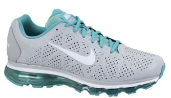 Nike Air Max+ 2011 Leather Wolf Grey/White-New Green