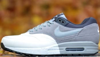 Nike Air Max 1 Premium Summit White/Medium Grey-Black-Dark Charcoal