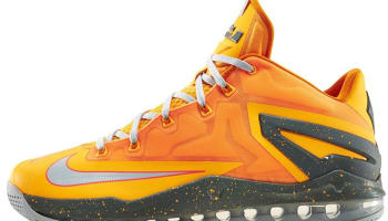 Nike LeBron 11 Low Atomic Mango/Light Base Grey-Kumquat-Medium Base Grey