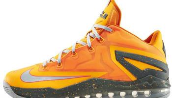 Nike LeBron 11 Low Atomic Mango/Light Base Grey-Kumquat-Medium Base Grey