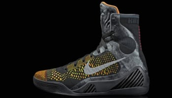Nike Kobe 9 Elite Black/Metallic Silver-Anthracite