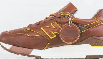 New Balance 998 Brown/Yellow