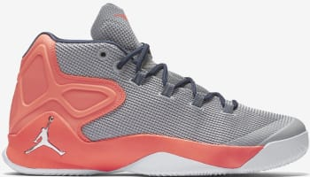Jordan Melo M12 Wolf Grey/Hyper Orange