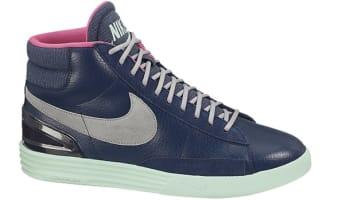 Nike Lunar Blazer Brave Blue/Silver-Green Glow-Pink Foil