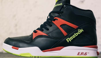 Reebok Pump Omni Zone Black/Excellent Red-Solar Yellow-White
