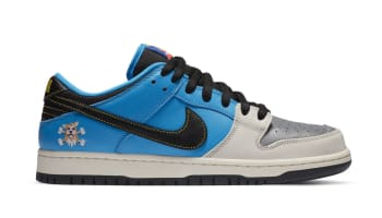 Instant Skateboards x Nike SB Dunk Low Blue Hero/Pale Ivory/Black