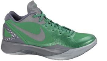 609150c840d5 Nike Zoom Hyperdunk 2011 Low PE Lucky Green Metallic Clover-Cool Grey