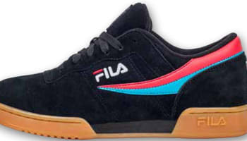 Fila Original Fitness Black/Red-Teal