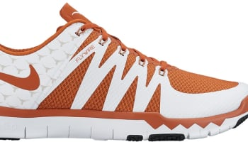 Nike Free Trainer 5.0 V6 Amp White/Light Ash Grey-Desert Orange