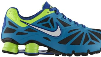 Nike Shox Turbo XIV City Neon Turquoise/Black-Flash Lime-Liquid Lime