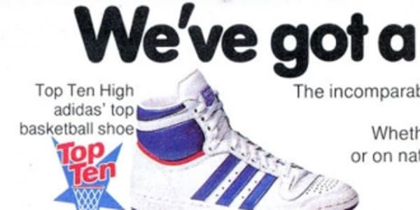 Vintage Ad: adidas Top Ten