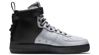 Nike Air Force 1 Mid Wolf Grey Black