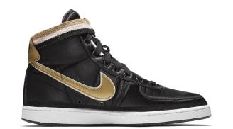 Nike Vandal High Supreme Black Metallic Gold