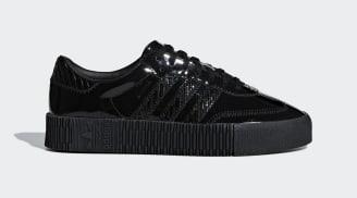 adidas Sambarose Patent Black