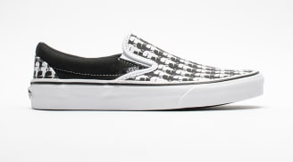 "Karl Lagerfield x Vans Slip On ""White/Black"""