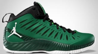 Jordan Super Fly Pine Green/White-Gorge Green-Black