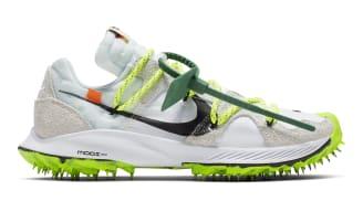 Off-White x Nike Zoom Terra Kiger 5 Women's White/Metallic Silver-Sail-Safety Orange