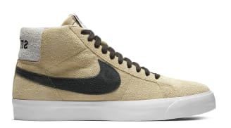 Stüssy x Nike SB Blazer Mid Midwest Gold/Black