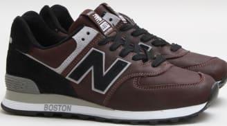 new balance 574 brown
