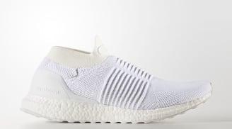 "adidas Ultra Boost Laceless ""Triple White"""