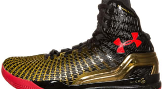 Under Armour Micro G Clutchfit Drive Black/Red-Metallic Gold