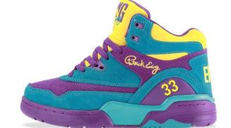 Ewing Athletics Ewing Guard Sparkling Grape/Scuba Blue-Vibrant yellow